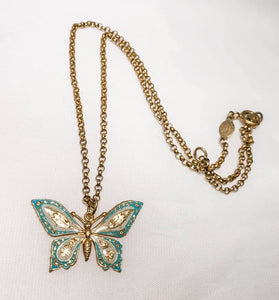 Jardin de Papillons Necklace