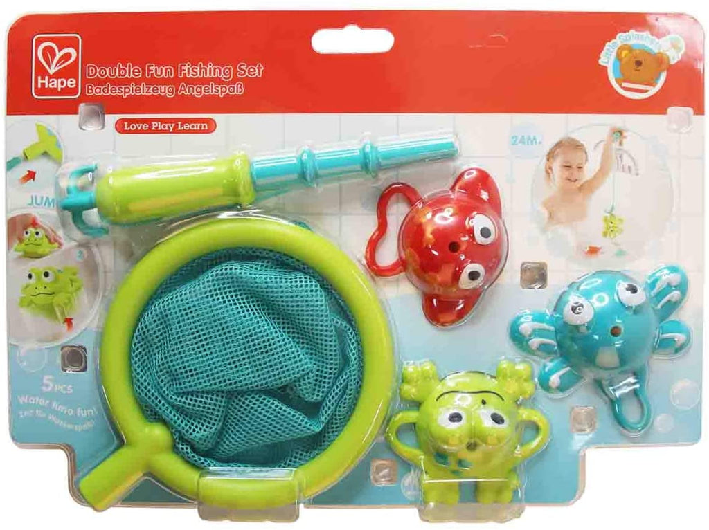 Hape E0214 Double Fun Fishing Set
