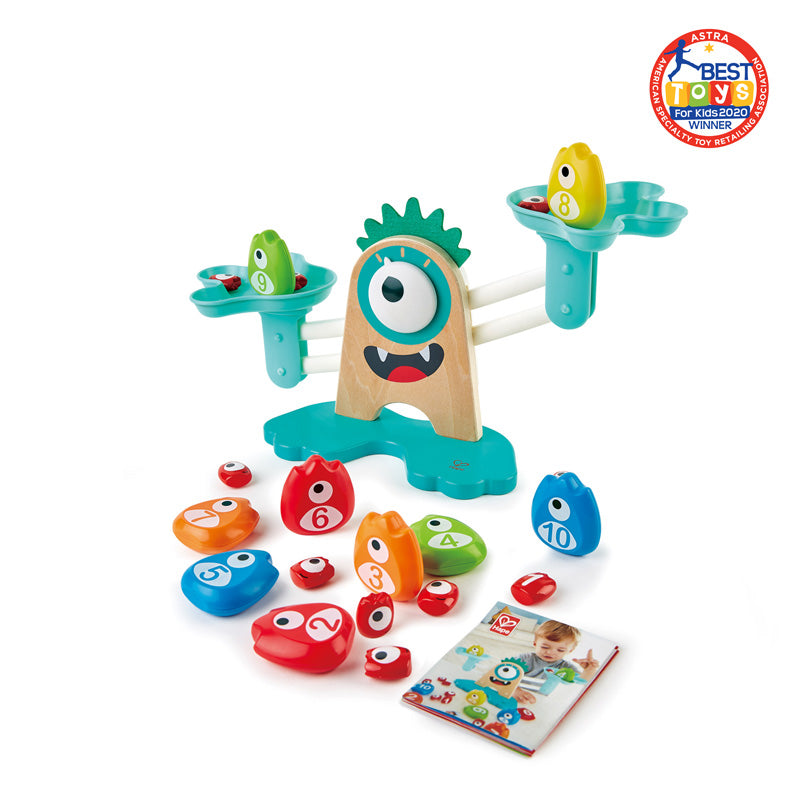 Hape E0511 Monster Math Scale
