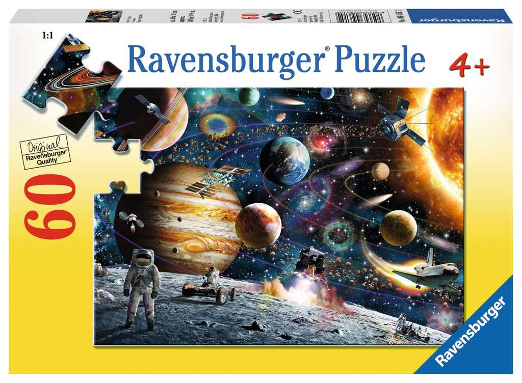 Outer Space 60 Piece Kids Jigsaw Puzzle