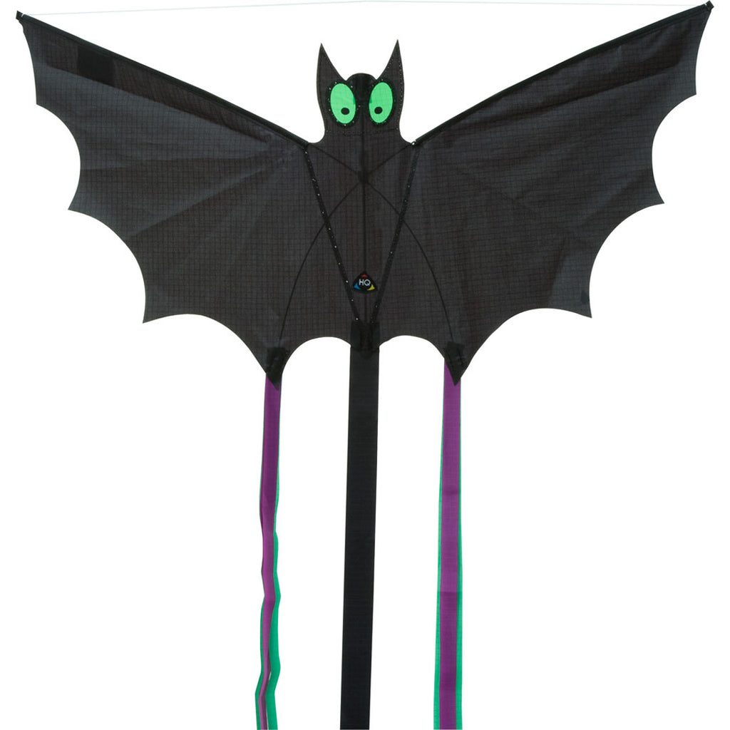 Black Mini Bat Kite