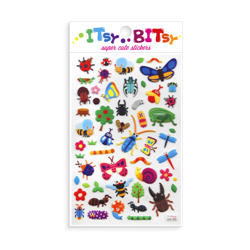 Ooly Itsy Bitsy Stickers Bug Life