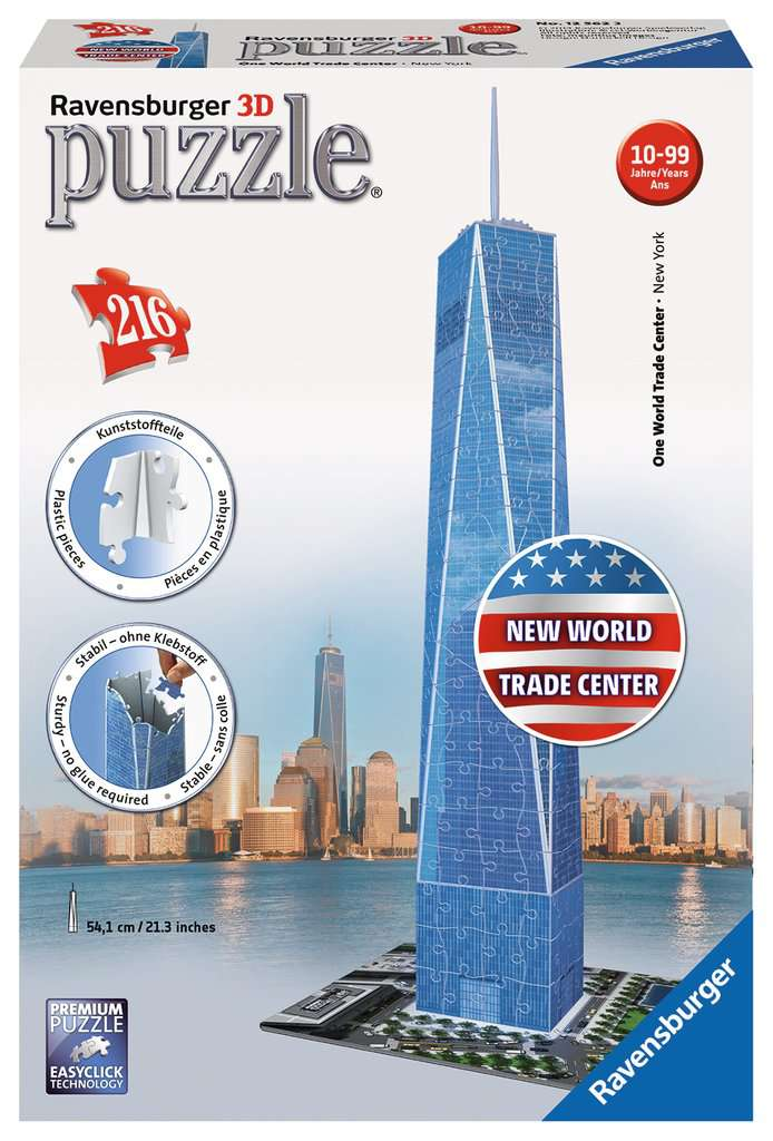 One World Trade Center NY 3D Puzzle