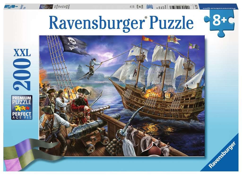 Blackbeards Battle 200 Piece Jigsaw Puzzle