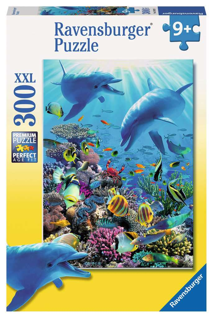 Underwater Adventure 300 Piece Kids Jigsaw Puzzle