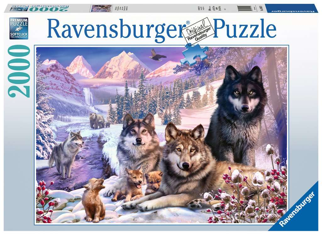 Wolves 2000 Piece Jigsaw Puzzle