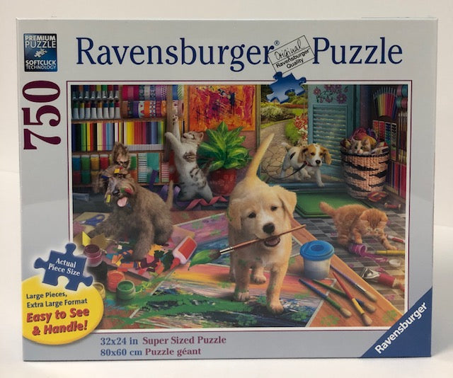 Cute Crafters 750 Piece Large Format Jigsaw Puzzle