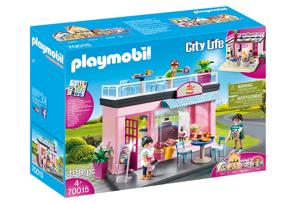 Playmobil 70015 My Cafe