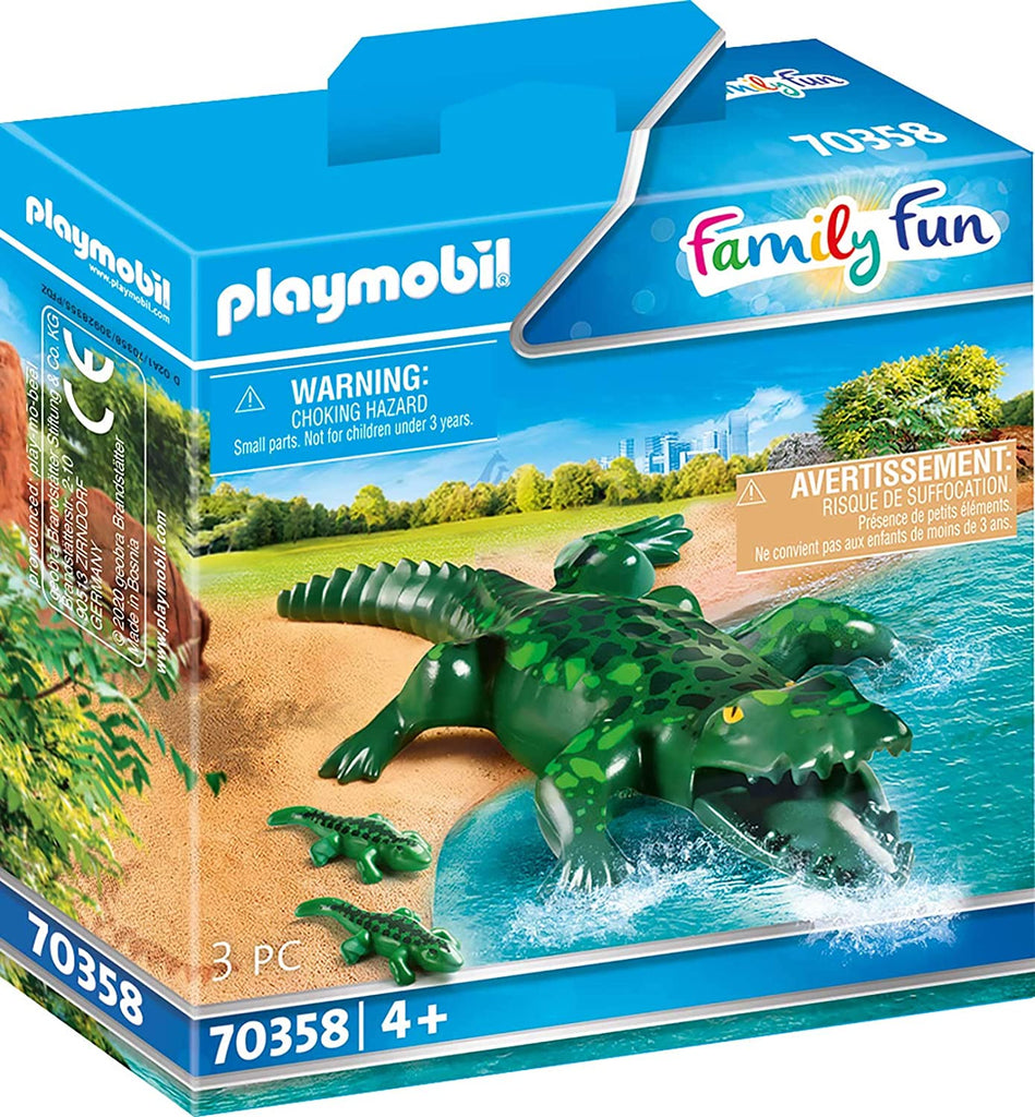 Playmobil 70358 Alligator with Babies