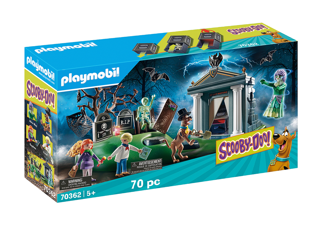 Playmobil 70362 Scooby Doo Adventure in the Cemetery