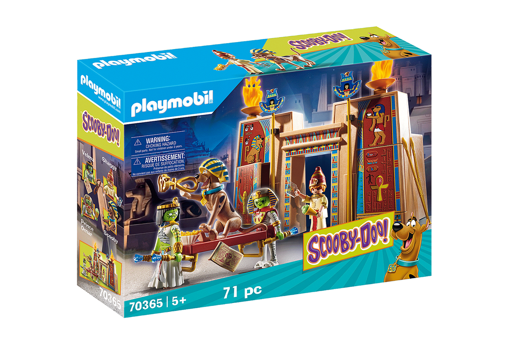 Playmobil 70365 Scooby Doo Adventure in Egypt