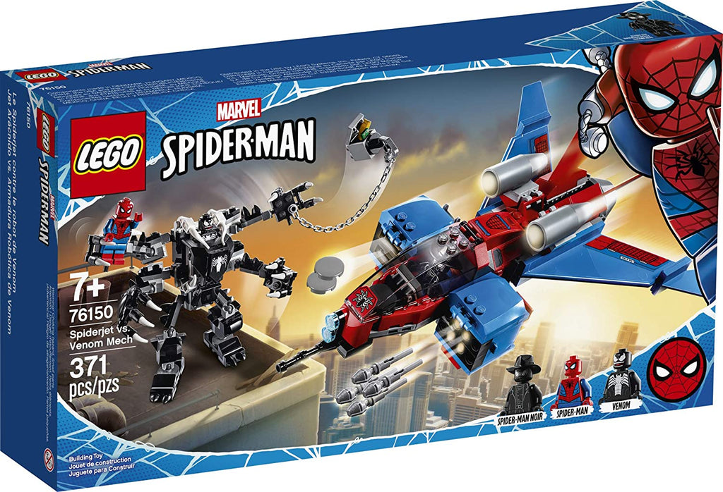 LEGO Super Hero 76150 Spiderjet vs Venom Mech