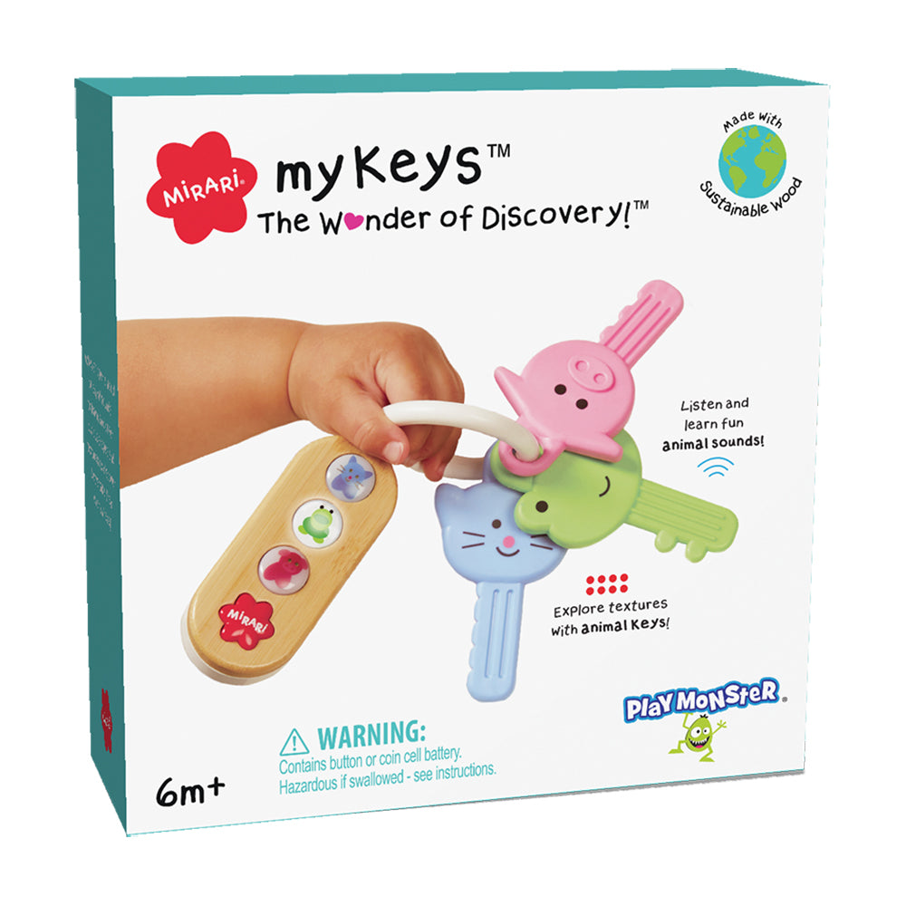 MyKeys Infant Teething Keys