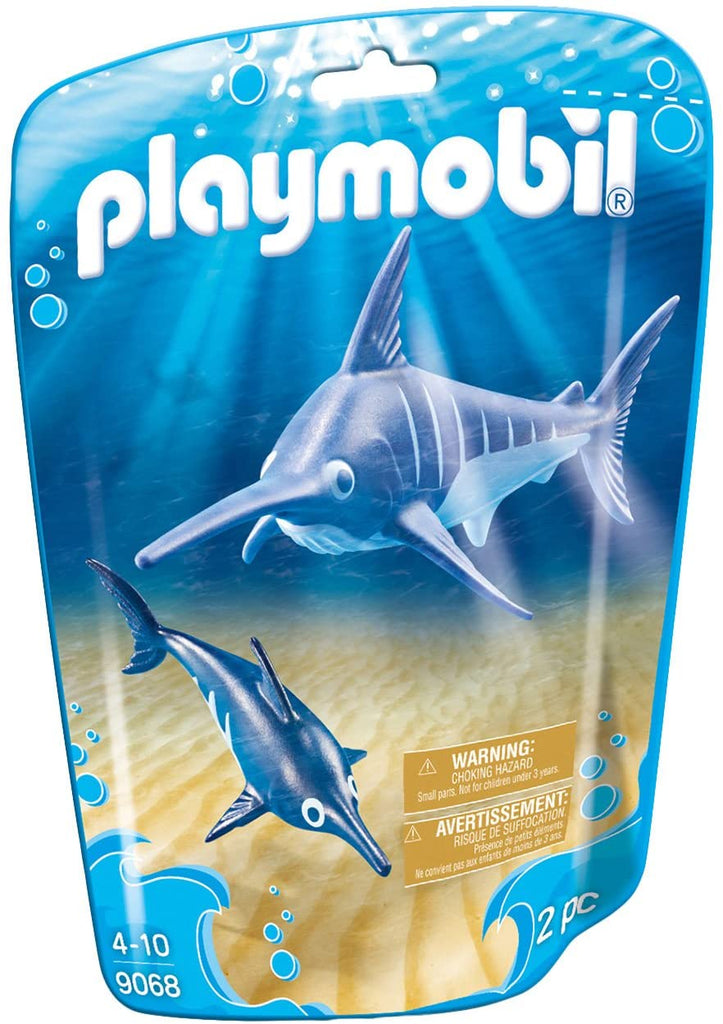 Playmobil Swordfish with Baby