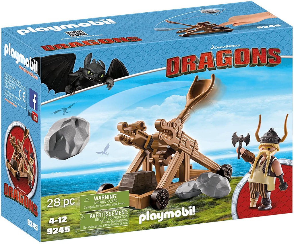 Playmobil 9245 Gobber with Catapault