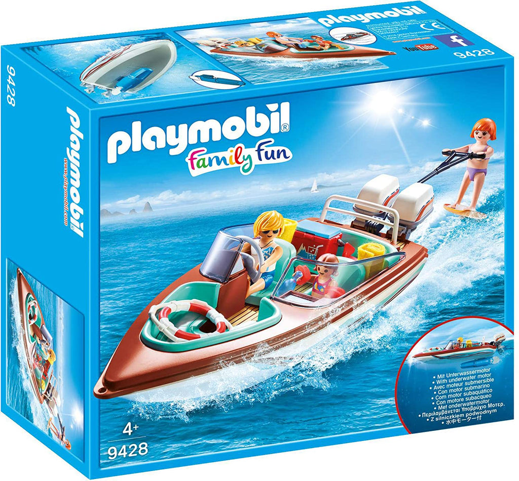 Playmobil 9428 Speedboat with Motor
