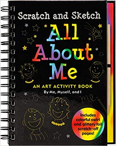 All About Me Scratch & Sticker Journal