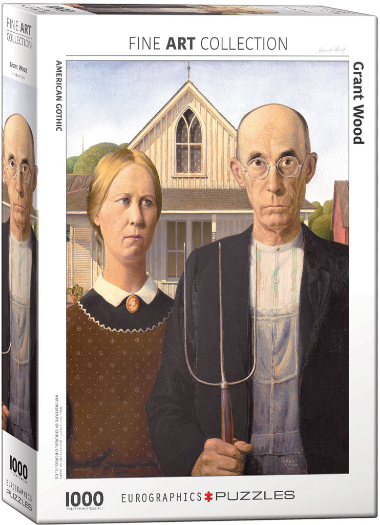 Eurographics American Gothic 1000 Piece Jigsaw Puzzle
