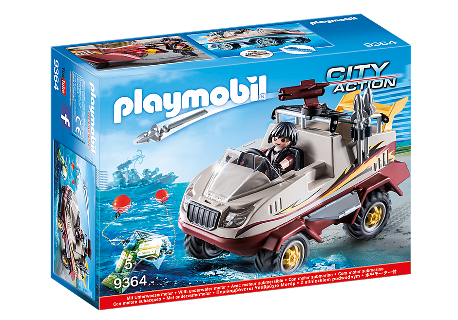 Playmobil 9363 Tactical Unit Helicopter