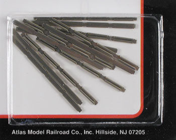 Atlas 2535 N Scale Code 80 Rail Joiners