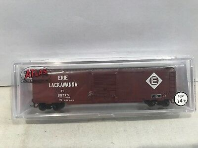 Atlas Trainman 50001099 N Scale 50 SD Boxcar Erie