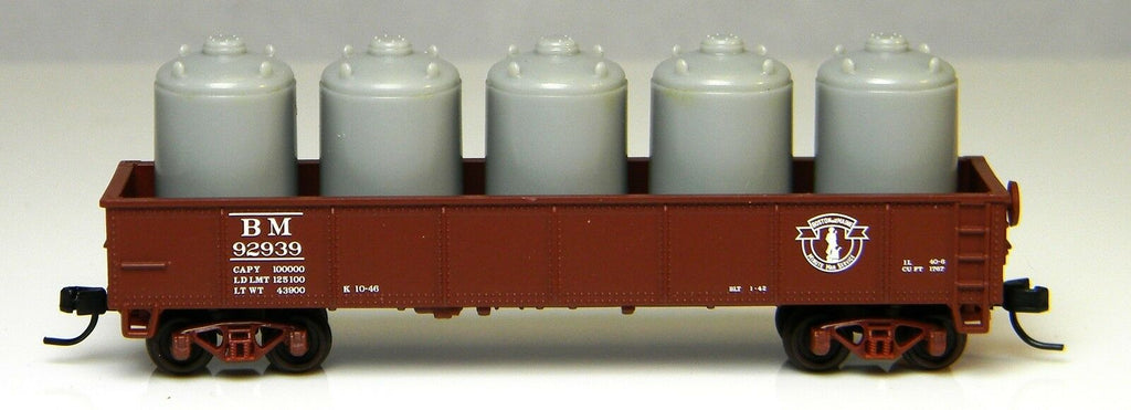 Atlas Trainman N Scale 42 Gondola Boston Maine 92939