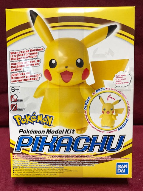 Bandai Pikachu Pokemon Model Kit