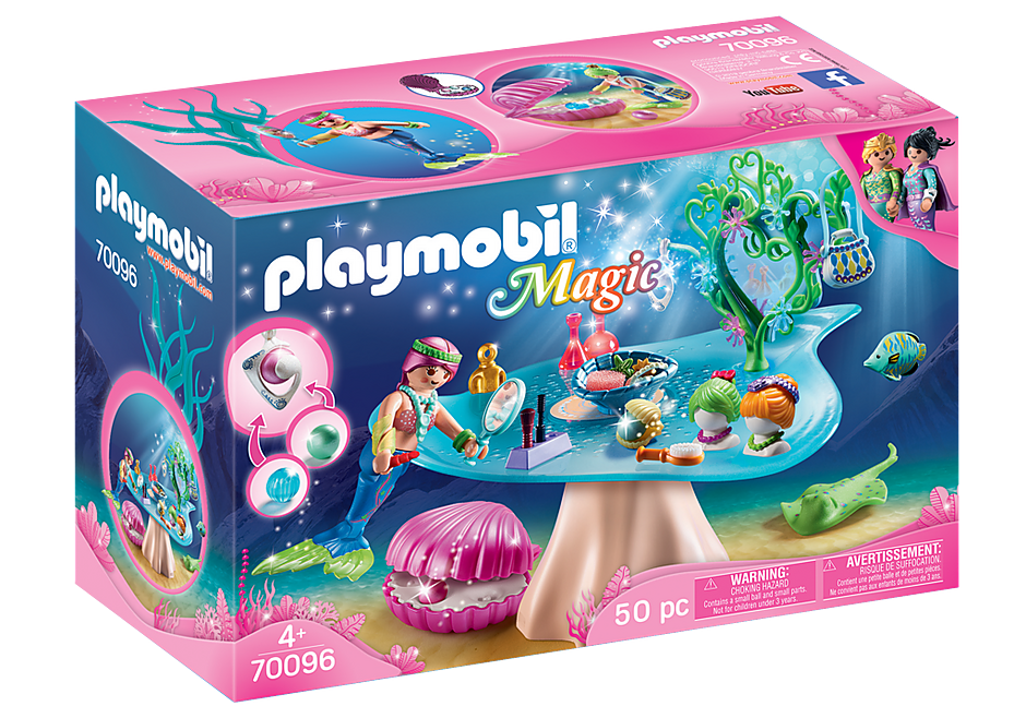 Playmobil 70096 Beauty Salon with Shell
