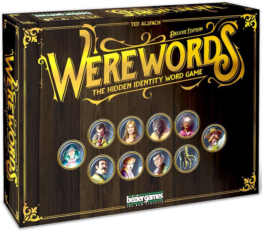 Werewords Deluxe Hidden Identity Word Game