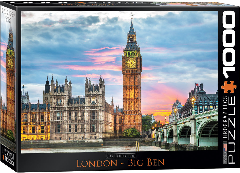 Eurographics Big Ben 1000 Piece Jigsaw Puzzle
