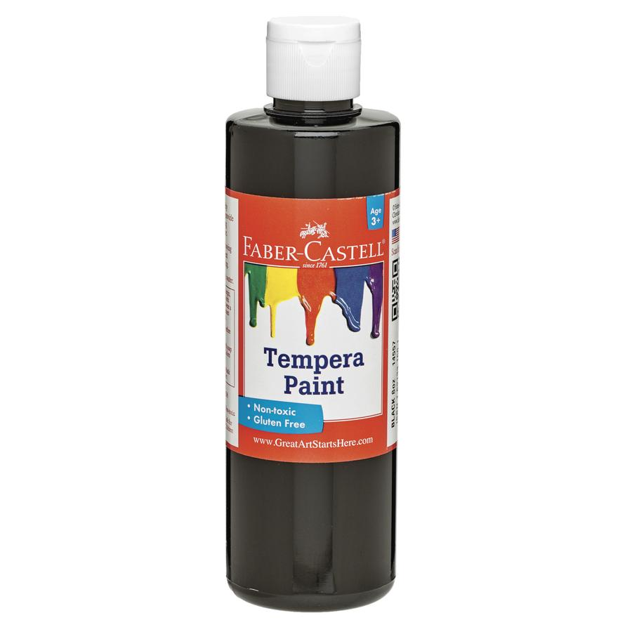 Black Tempera Paint