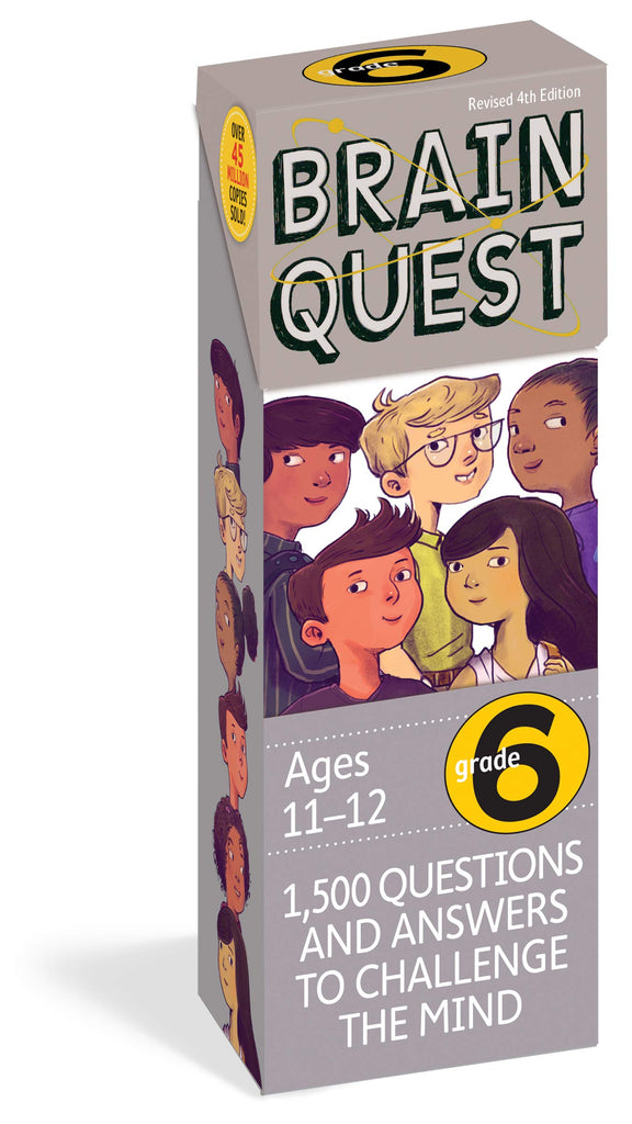 Brain Quest For Grade 6