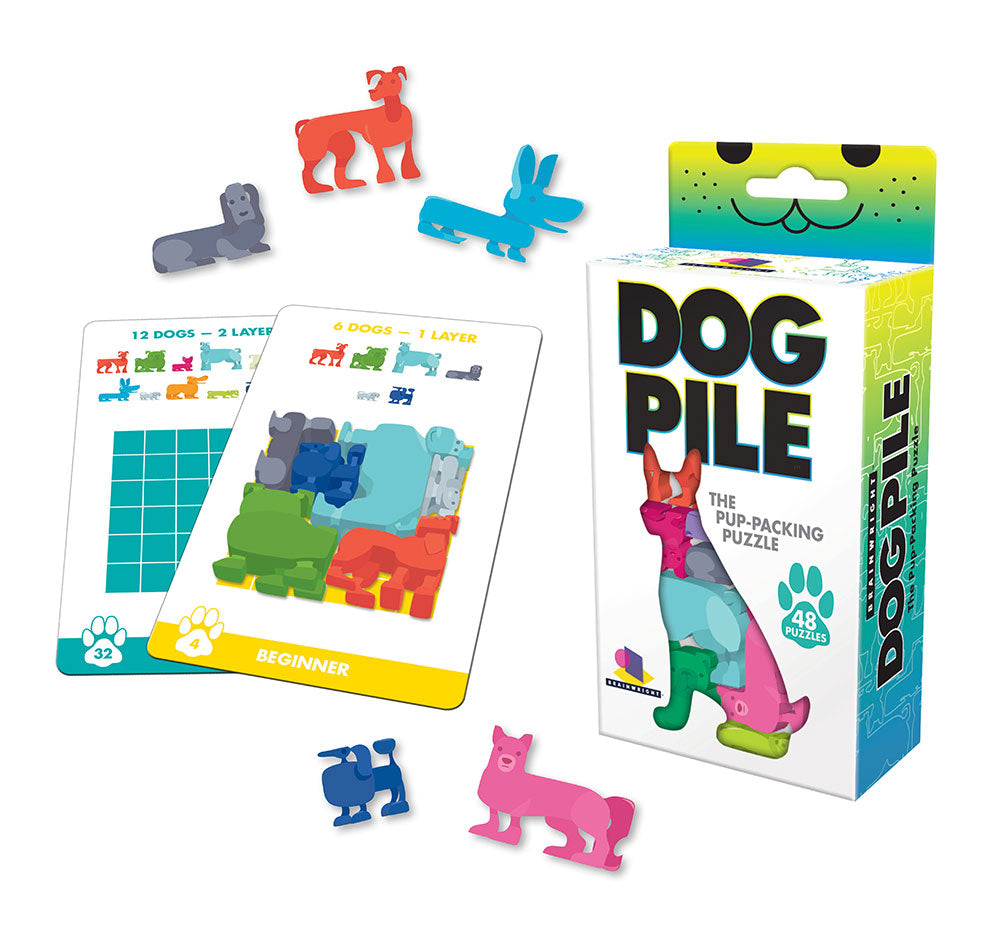 Dog Pile Stacking Puzzle