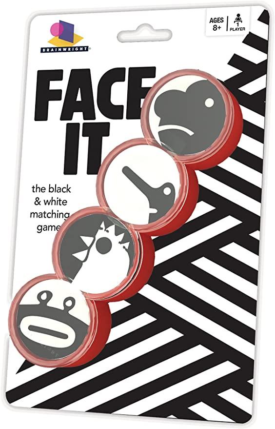 Face It Black and White Matching Game