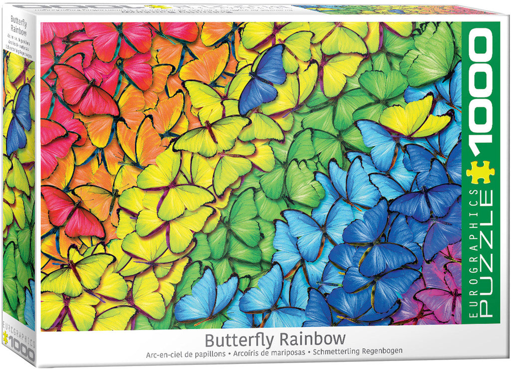 Eurographics Butterfly Rainbow 1000 Piece Jigsaw Puzzle