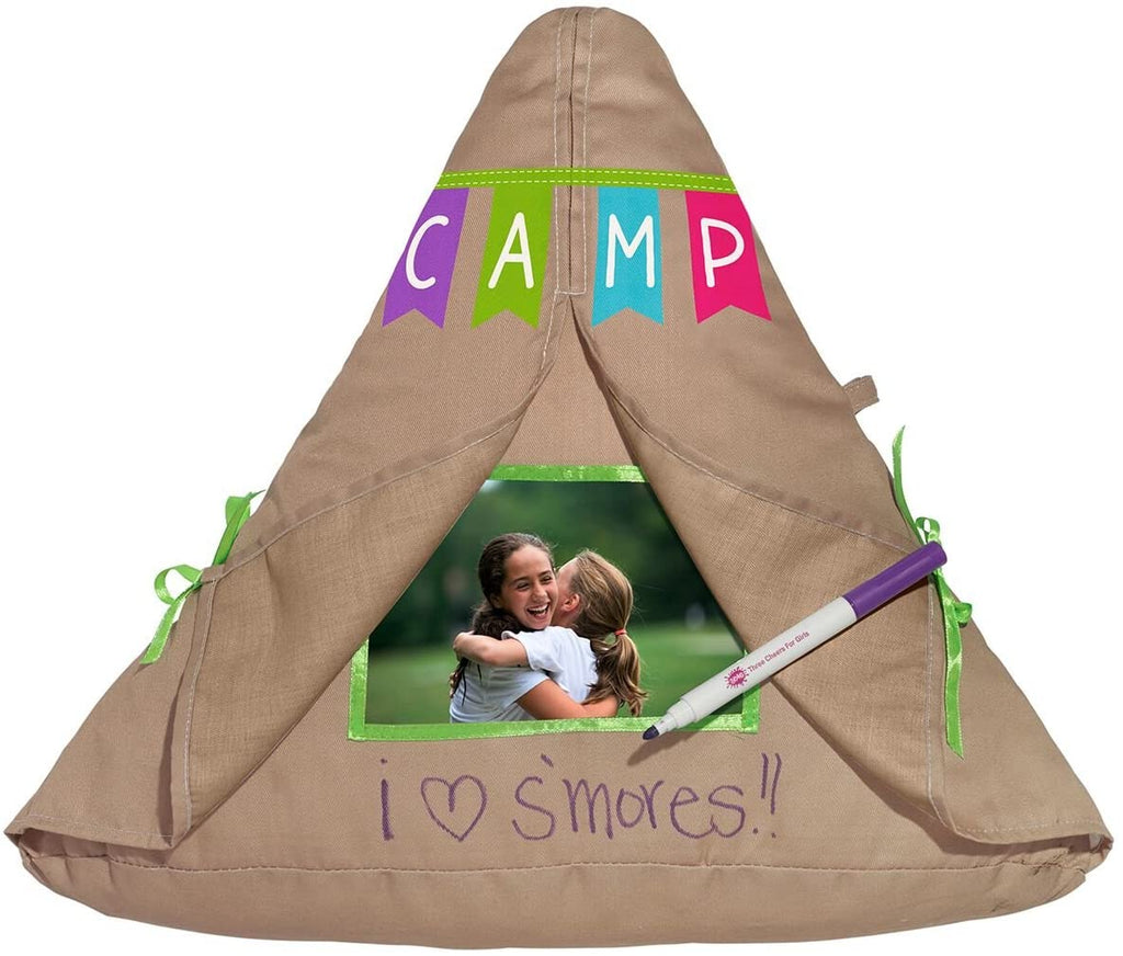 Camp Tent Photo Pillow