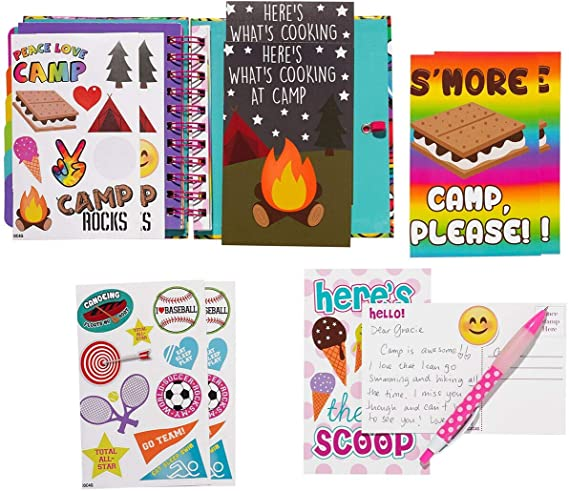 Smores Ultimate Camp Stationery Set