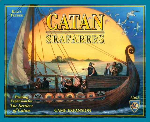 Settlers of Catan Expansion Seafarers