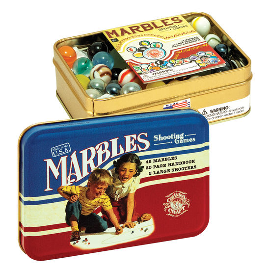 Cool Marble Games Tin