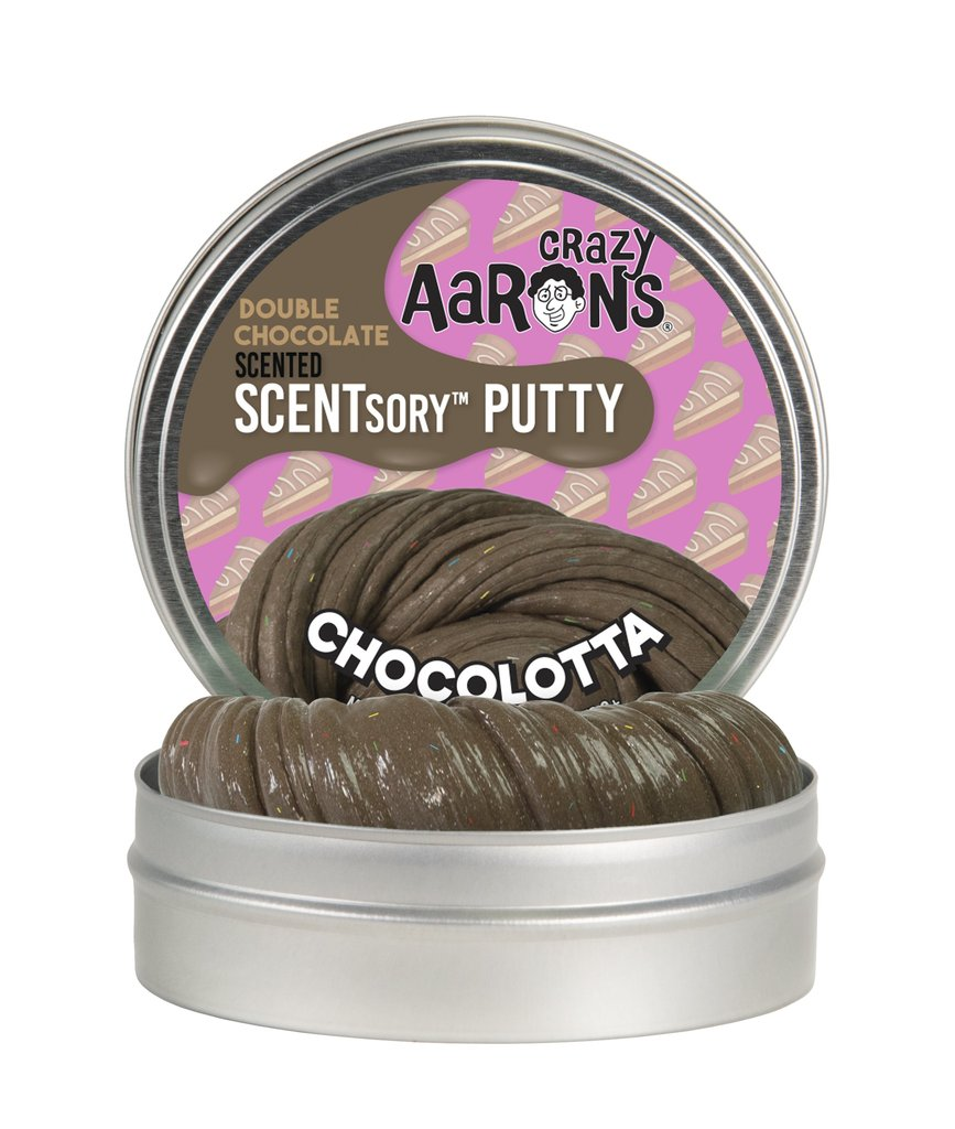 Crazy Aaron Chocolatta Scented Thinking Putty