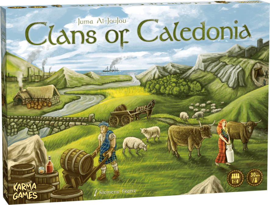 Clans of Caledonia Game