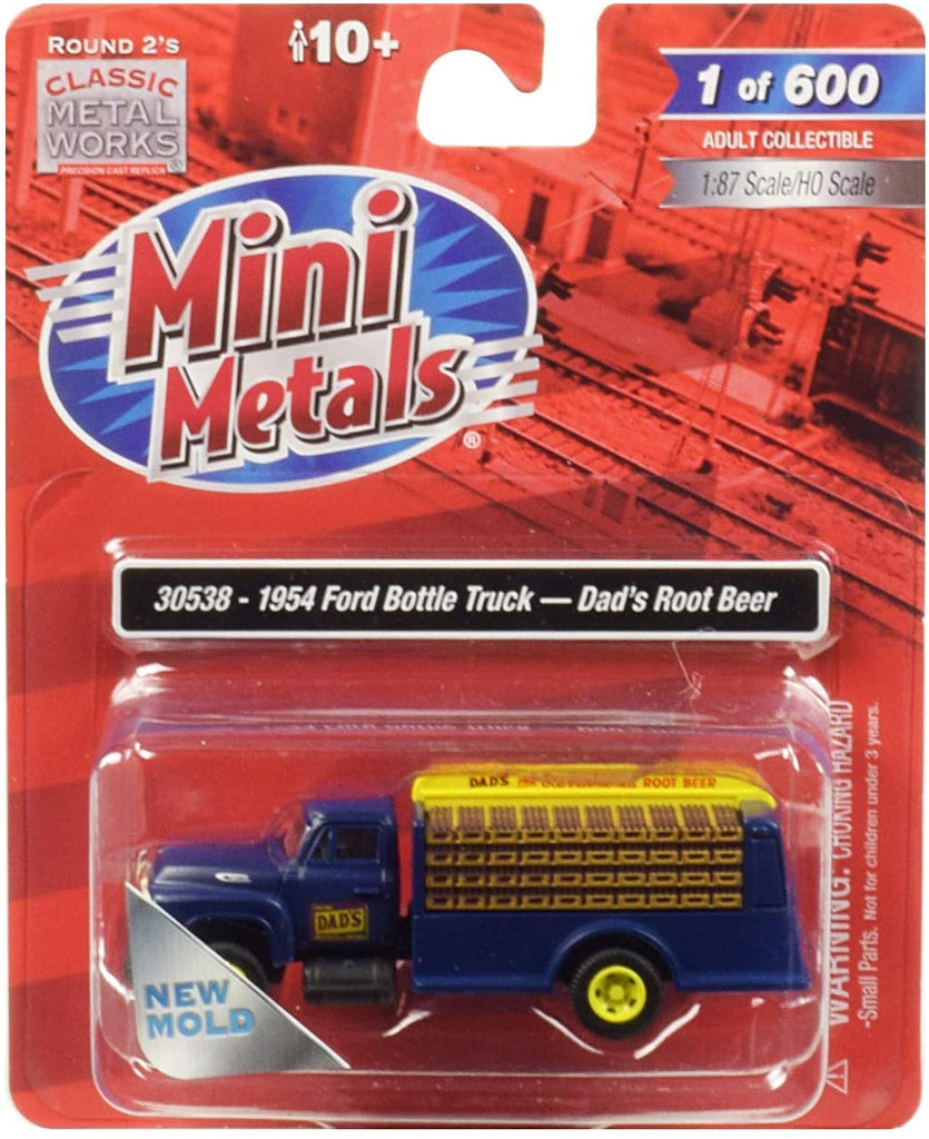 Classic Metal Works HO Scale Ford Bottle Truck Dads Root Beer