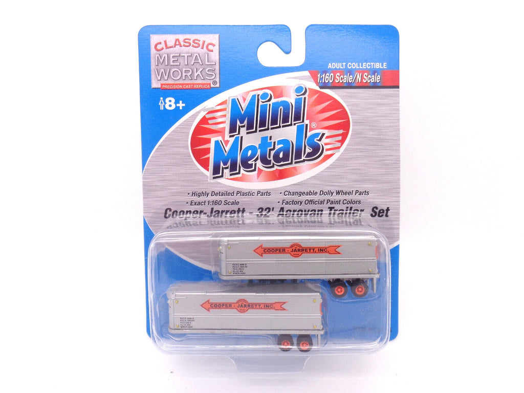 Classic Metal Works N Scale Aerovan Trailer