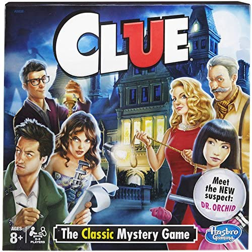 Clue with Dr Orchid