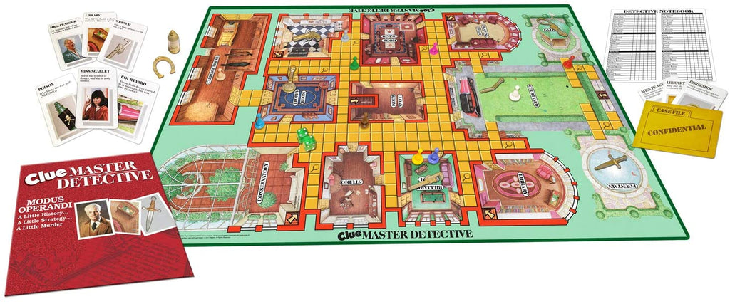 Clue Master Detective Game