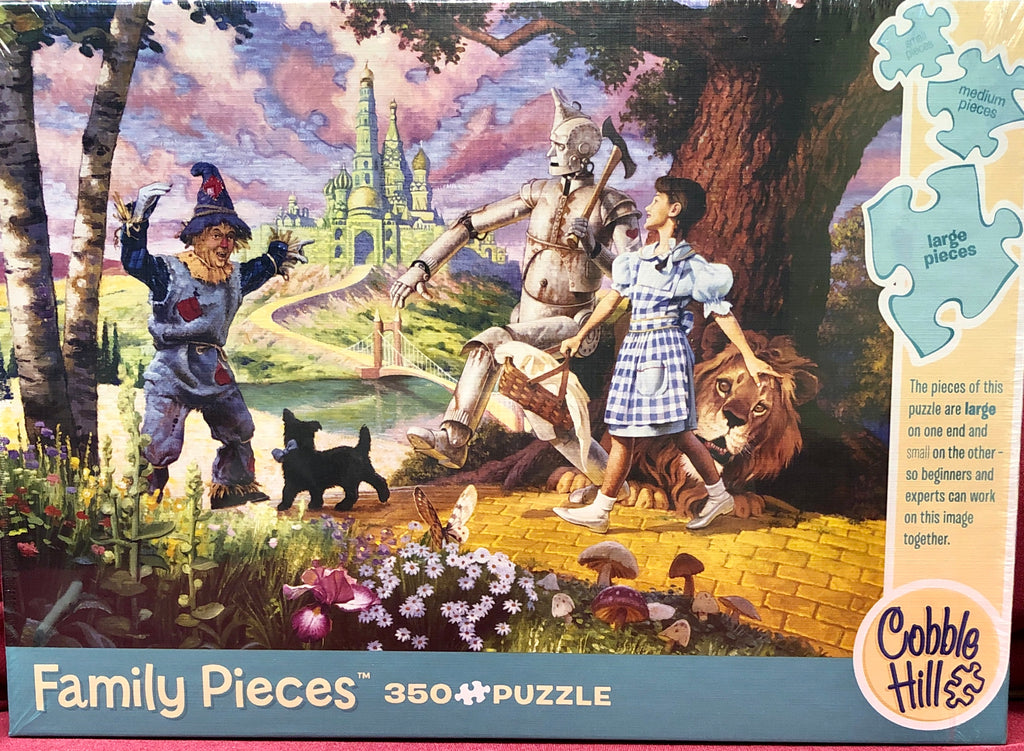 Cobble Hill The Wizard of Oz 350 Piece Random Cut Family Jigsaw Puzzle