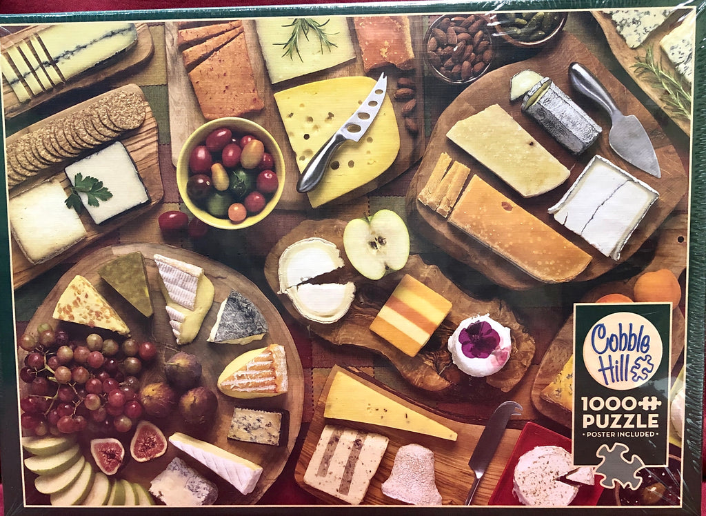 Cobble Hill More Cheese Please 1000 Piece Jigsaw Puzzle