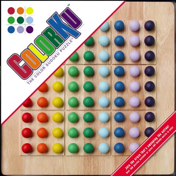 ColorKu Solid Wood Game