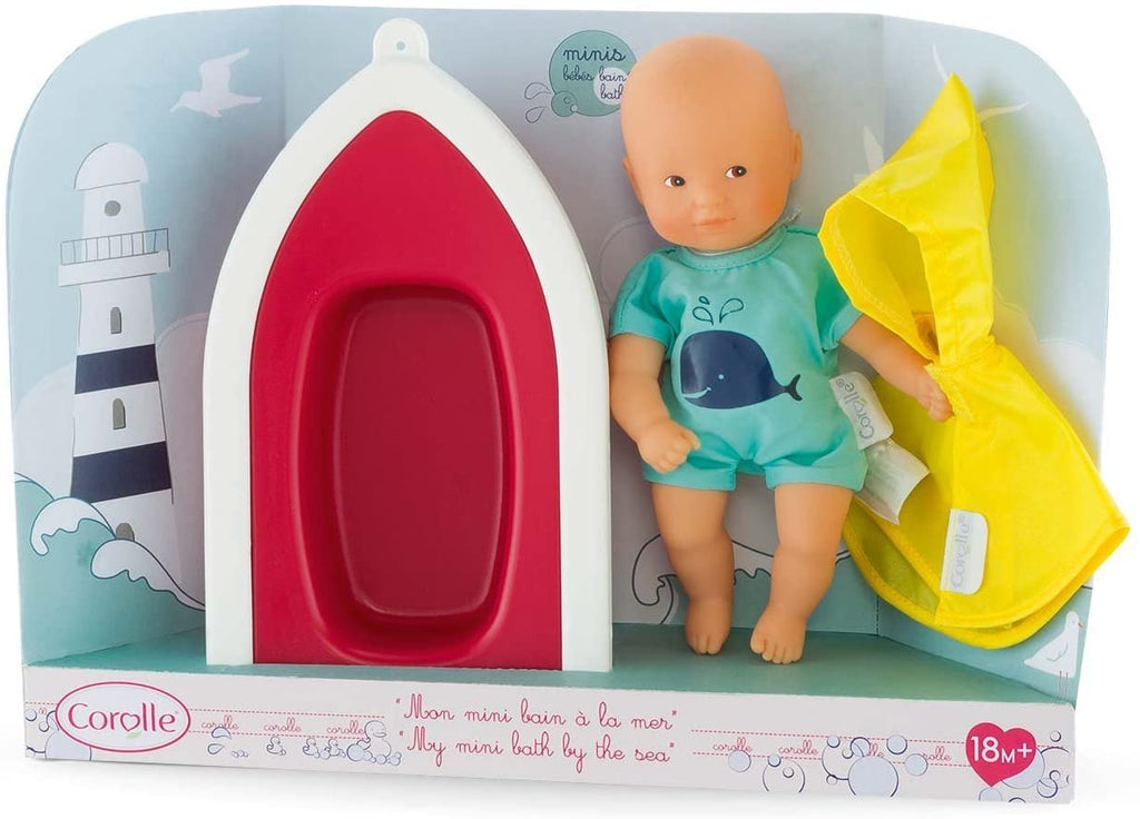 Corolle Mini Bath By The Sea Doll