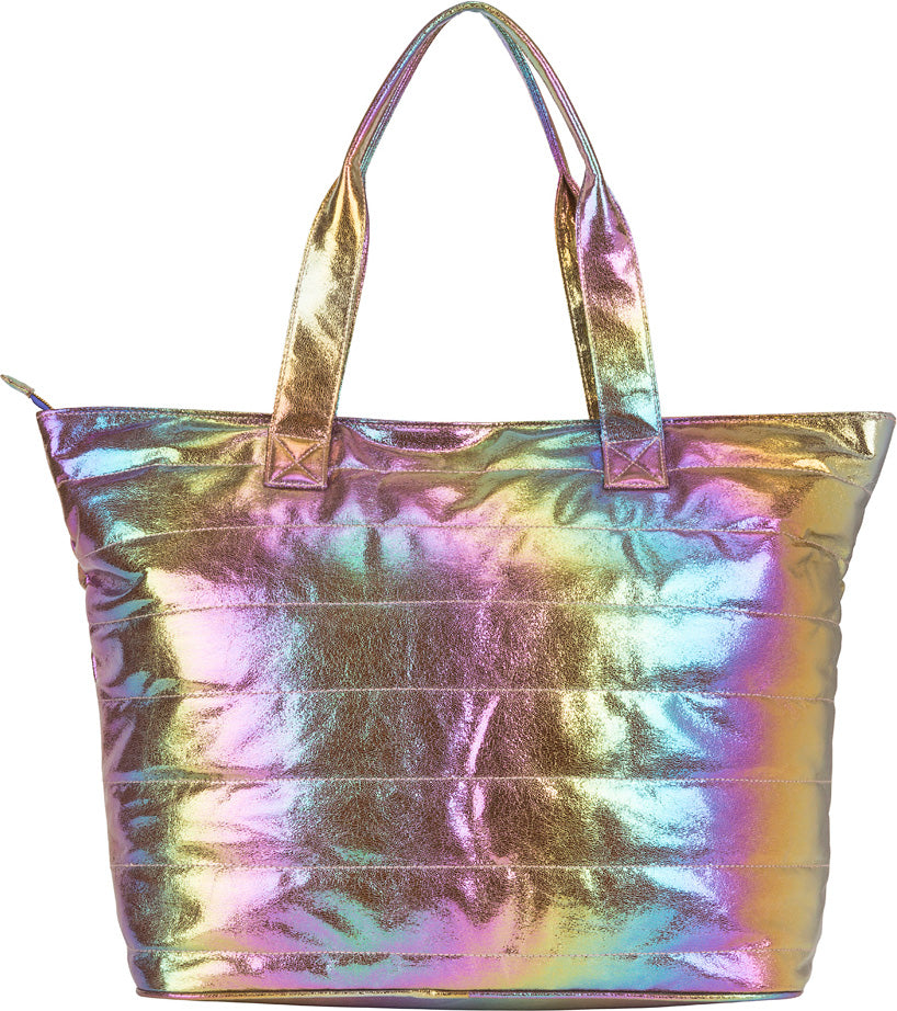 Cosmic Rainbow Weekend Tote